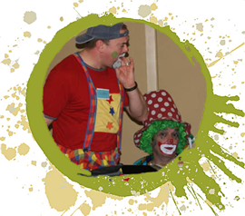 party clowns for hire, clowns for kids parties, clowns for birthday parties