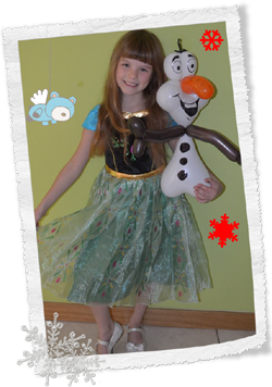 elsa frozen party princess
