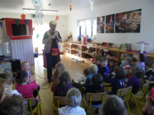Creche party entertainer
