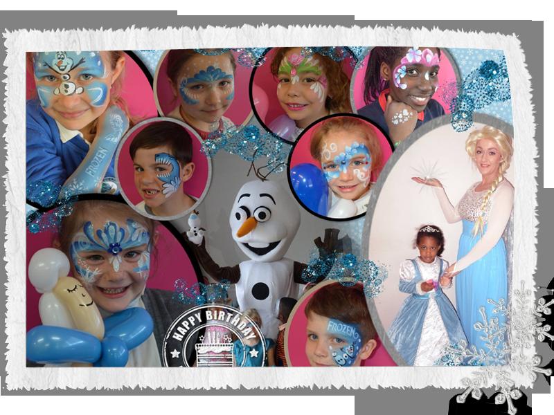 elsa frozen party princess